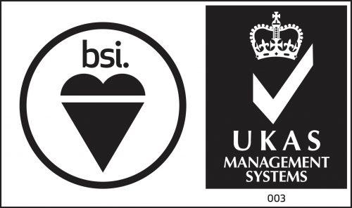 BSI and UKAS logos