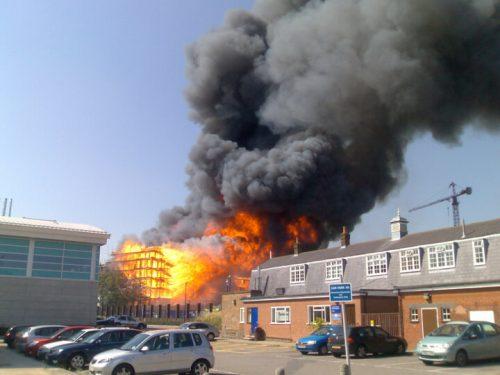 Fire development