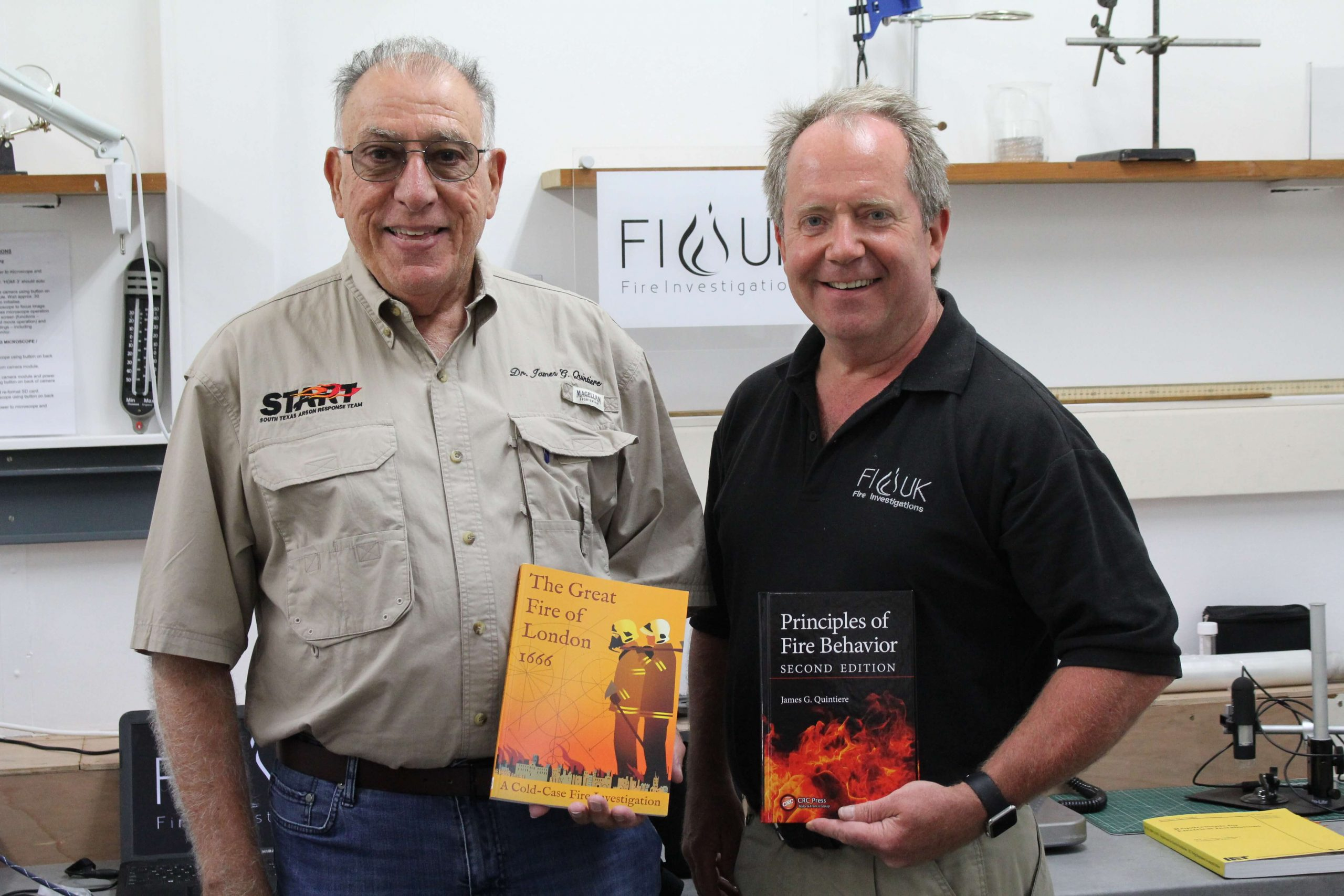 Advanced Principles of Fire Dynamics 2019 Course with FI-UK and Dr Quintiere